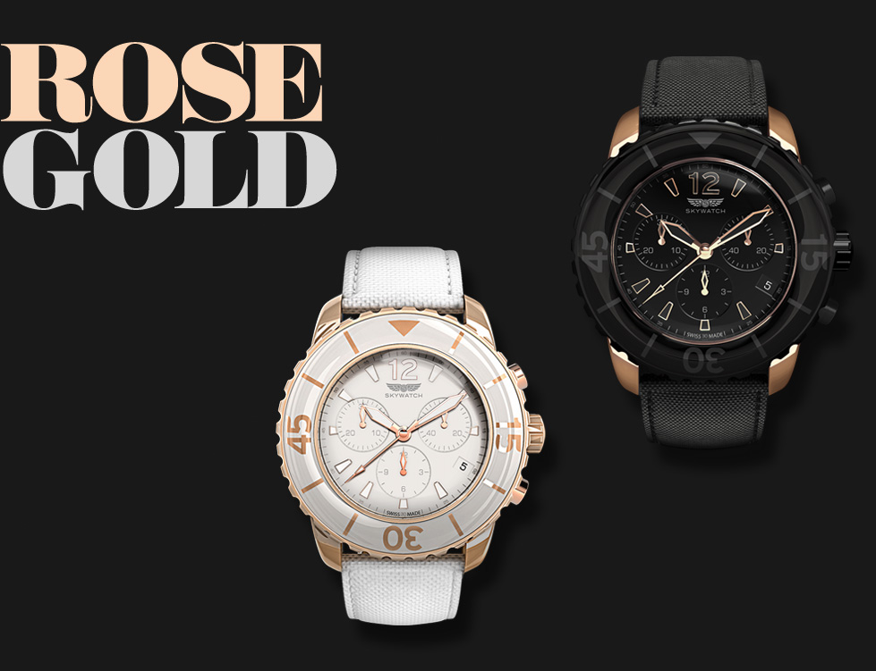 Rose Gold Chronographs